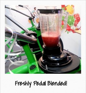 Smoothie Bike Blender