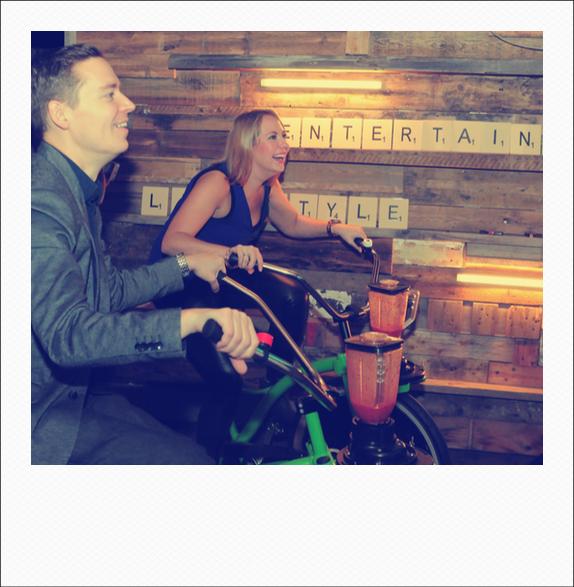 Emma & Pete blending @ NEC