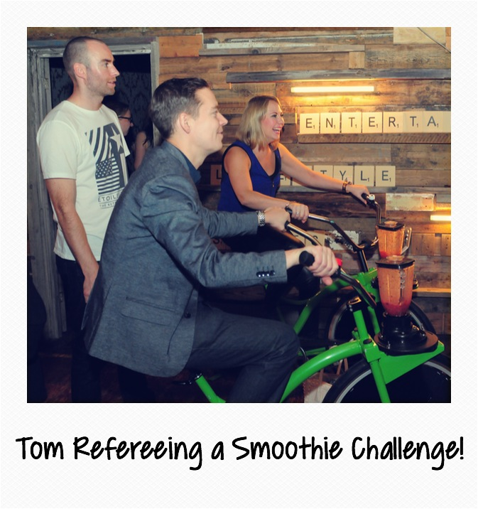 Tom Smoothie Challenge