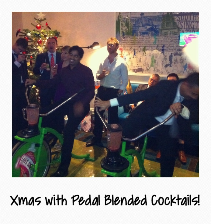 Xmas Cocktail Bikes