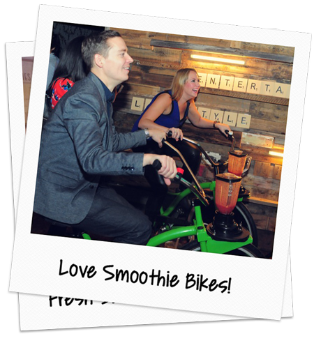 love smoothie bike event