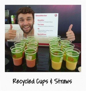 Recycled Cups & Straws