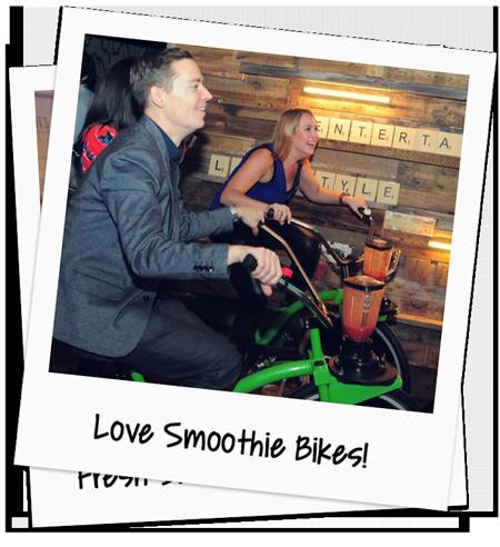 love smoothie bike event