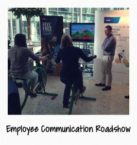 Employee Communication Roadshow