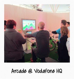 Arcade at Vodafone HQ
