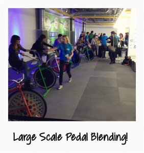 Large Scale Pedal Blending